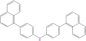 Bis (4- (1-naphthyl) phenyl) amine 897671-74-8