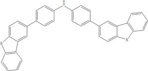 Bis (4- (2-dibenzothiophene) phenyl) amin 1663462-73-4