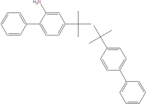Bis (4-tert-butyl biphenyl) amin 1078705-10-8