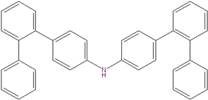Bis (4-o-terphenyl) amin 1222634-01-6