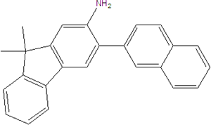 2-Amino-3-(2-naphthyl)-9,9-dimethylfluorene 2123620-84-6
