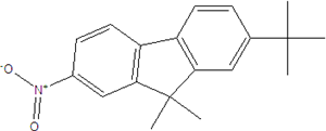 2-nitro-7-tert-bütil-9,9-dimethylfluorene