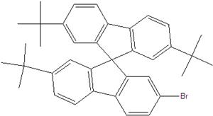 2 '' - Bromo-2,7,7 '' - tri-terc-butil-9,9-spirobifluorene
