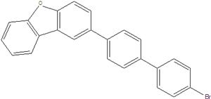 2- (4-bromobifenil) dibenzofuran 1084334-69-9