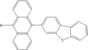 3- (10-bromo-9-anthryl) dibenzofuran