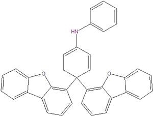 4,4-bis (4-dibenzofuranilo) difenilamina 55959-91-8