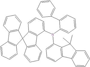 N- (2-biphenyl) -N- (9,9-dimethylindol-2-yl) -9,9-spirobifluorene-4-amin 1450933-44-4