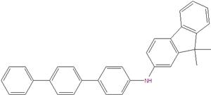 9,9-dimetyl-N- [1,1 '': 4 '', 1 '' '' - terphenyl] -4-yl-9H-fluoren-2-amin 1179529-07-7