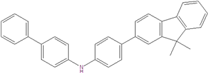 N-[4-(9,9-dimethylfluoren-2-yl)phenyl]-4-biphenylamine 1267247-99-3