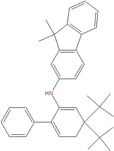 N-(9,9-diphenylfluorene-2-yl)dibenzofuran-3-amine