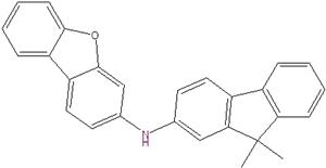 N- (9,9-dimetil-9H-fluoren-2-il) dibenzo [b, d] furano-3-amina 1427556-50-0