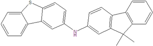 N- (9,9-dimethyl-9H-fluoren-2-yl) dibenzo [b, d] thiophen-2-amin