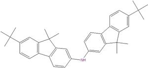 Bis(7-tert-butyl-9,9-dimethylfluorene-2-yl) amine