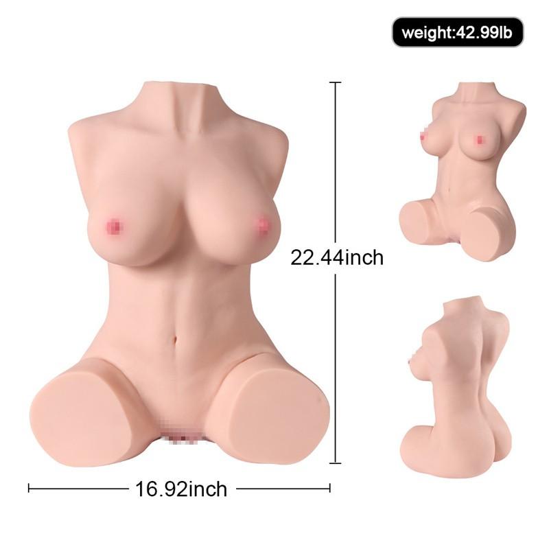TPR Mini Busty Big Butt Sex Doll Masturbators