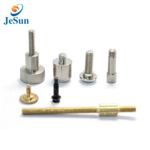 High precision custom brass shaft machining parts for Digital signage systems