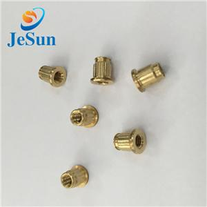 Small Brass Copper Knurl Insert Nut For Water filters