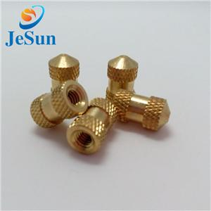 China Wholesale Brass Tank Connector Knurled Nuts for Build spin