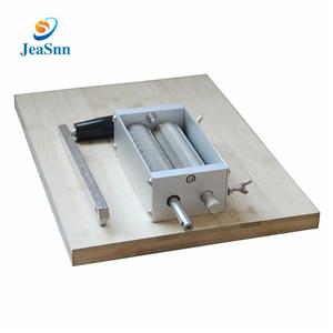 Stainless Steel Grain mill 2-roller Mill Grain Barley Crusher for Home Brewing