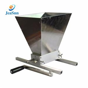 2 Rollers Grain roller mill home brew mill barley crusher