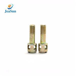 Customized Meter Screws Brass Energy Meter Screws with Color zinc plating