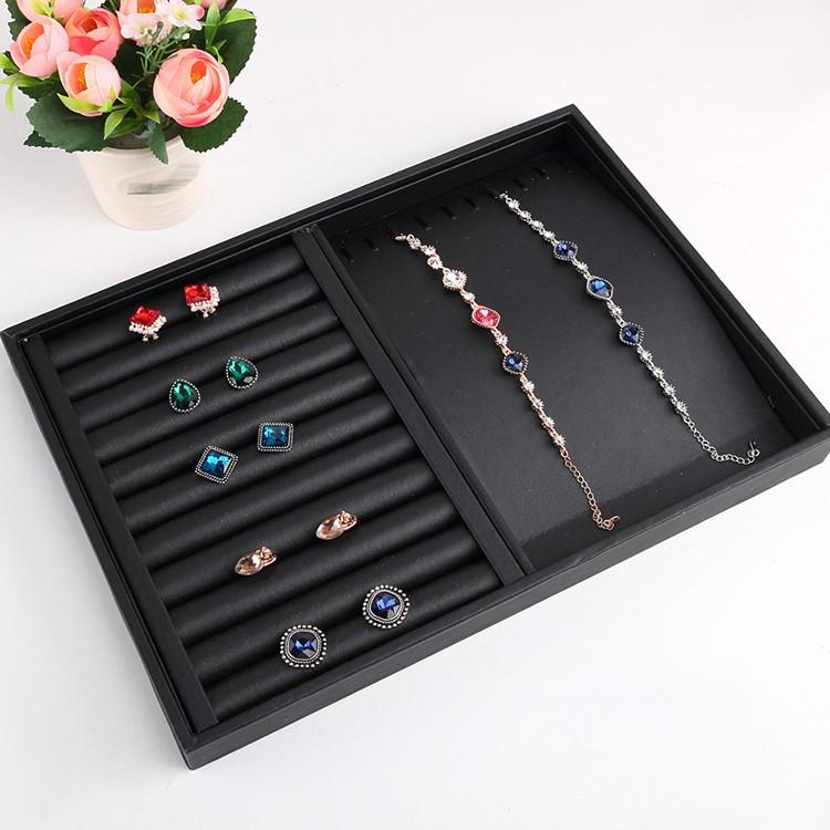 Acrylic Brass Jewelry Earring Display Stand Metal