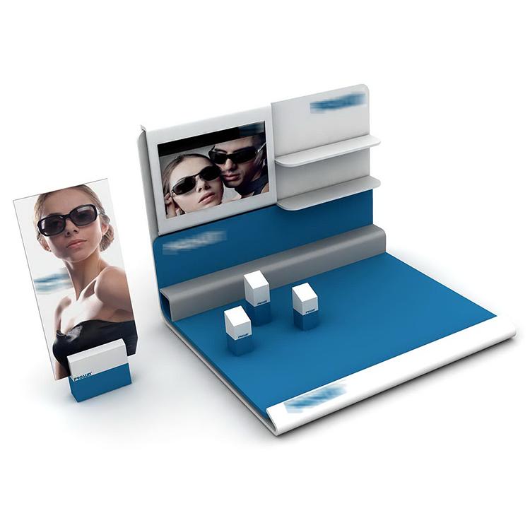 Coming Customized Available Alunimiun glasses eyewear Sunglasses Display Rack Stand