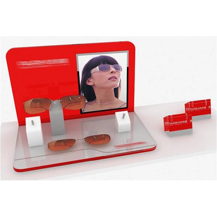 Contact Lenses Acrylic Eyeglass Display Stand