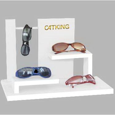 Acrylic Custom Eyeglass Display Store Fixture Eyewear Display Rods
