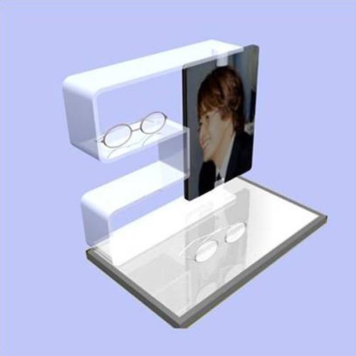 Acrylic eyewear rack sunglass display stand table display eyewear