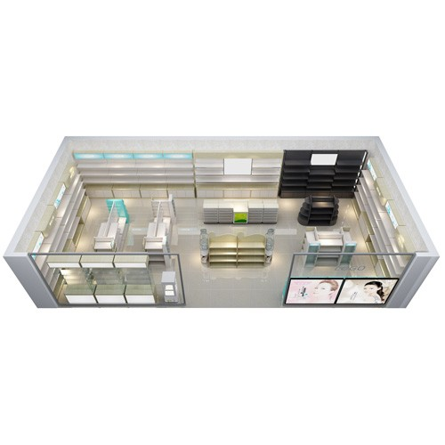 Cosmetic Display Counter for retail stand