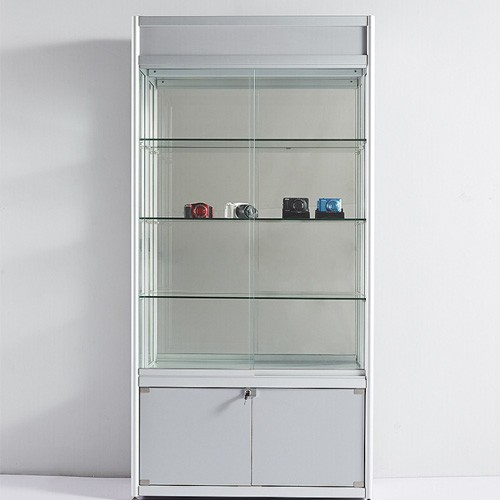 Attractive Pretty Glass Display Cabinet Showcase