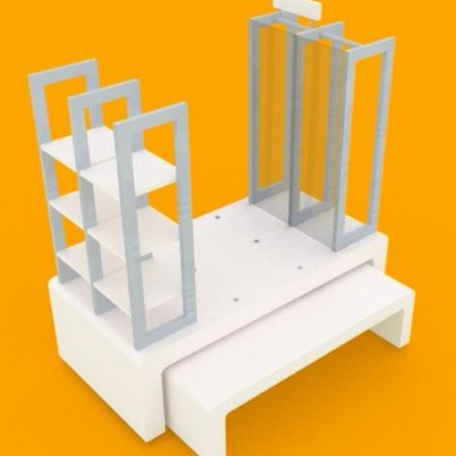 Classical And High Quality Display Platform Rack