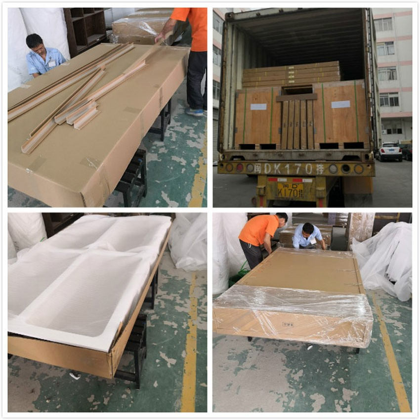 Packing details and loading container
