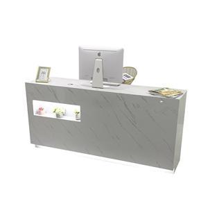 Modern Small Shaped Register Desk Checkout Counter
