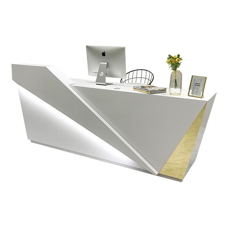 Modern Design Cash Counter Receiption Desk For Clothing Shop Interior Decoration In Promotion