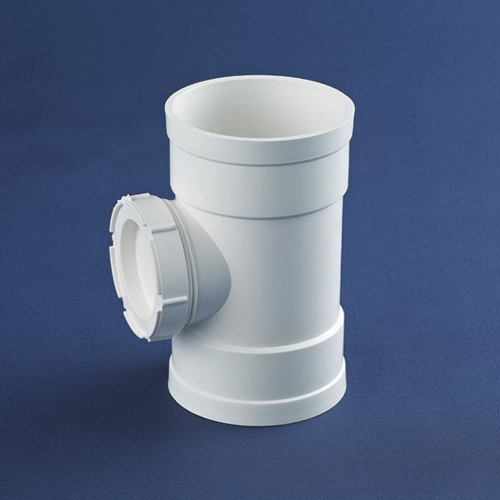 Coupler With Inspection For Drainage Pipes