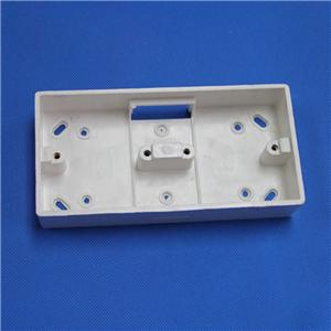 Two Gang Switch Box for PVC trunking
