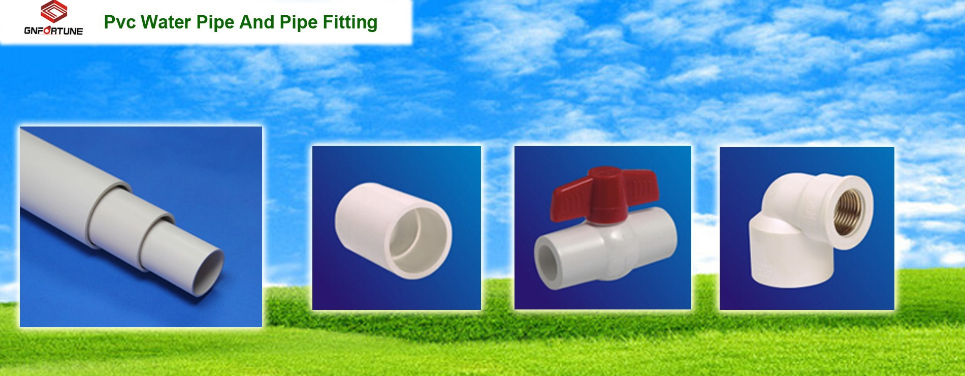 PVC WATER SUPPLY PIPES AND FITTINGS