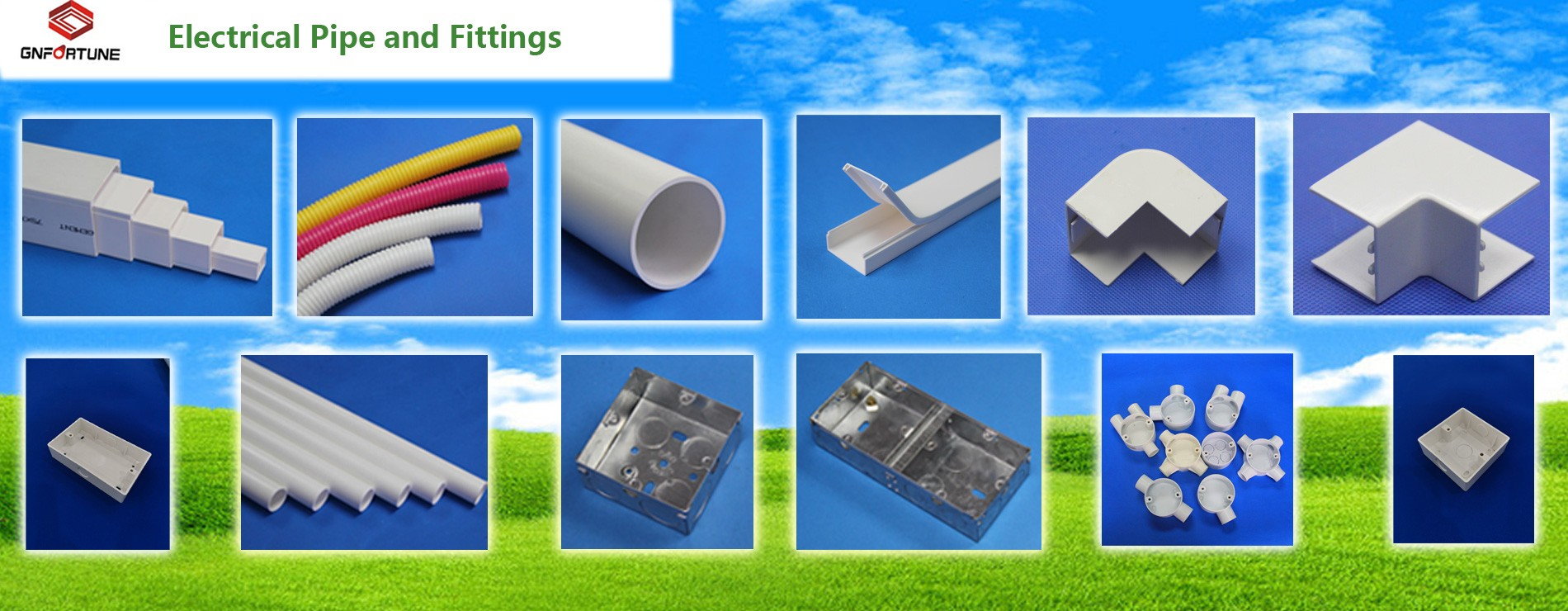 ELECTRICAL PVC CONDUIT PIPE AND FITTINGS